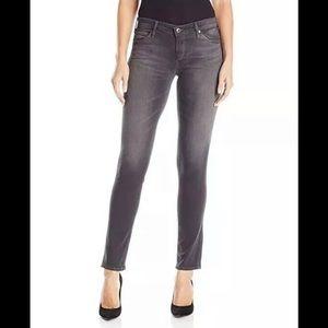 AG The Stilt Cigarette Leg Gray Pants Size 24 R
